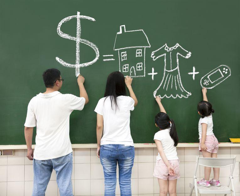 家族のお金の使い方