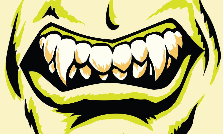 モンスターの歯