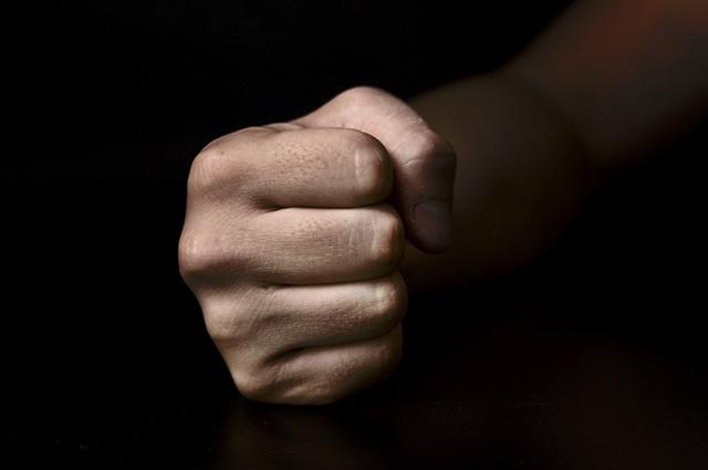 父親の握り拳