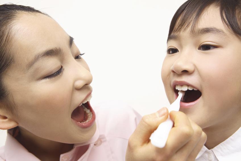 子ども:歯磨き
