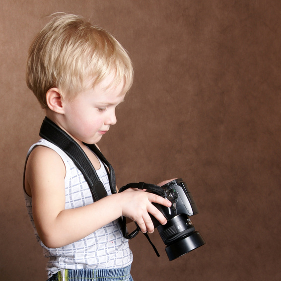カメラと少年