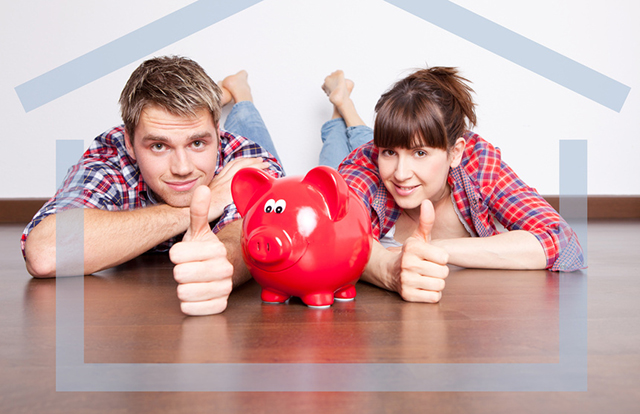 自宅購入資金を貯める夫婦