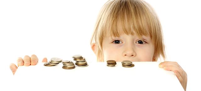 女の子:お金